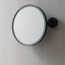 Specchio da bagno a muro / luminoso / basculante / moderno