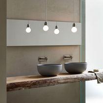 Lavabo da appoggio / rotondo / in ceramica / moderno