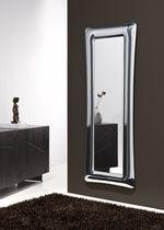 Specchio a muro / moderno / rettangolare / in metallo