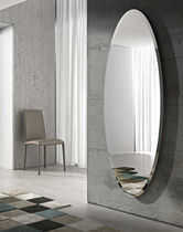 Specchio a muro / moderno / ovale