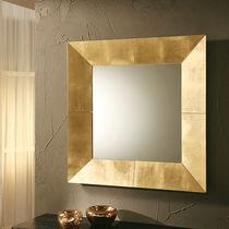 Specchio a muro / moderno / quadrato / in rame