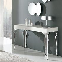 Tavolo console / moderno / in legno / in acciaio