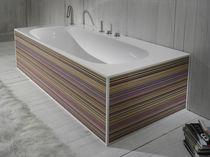 Vasca da bagno ad isola / in resina acrilica