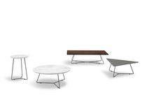 Tavolino basso / moderno / in marmo / in legno laccato