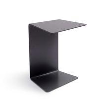 Tavolo d'appoggio / moderno / in lamiera / rettangolare