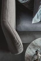 Letto standard / doppio / moderno / in tessuto
