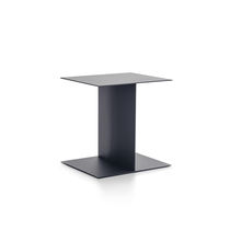 Tavolo d'appoggio / moderno / in metallo / rettangolare