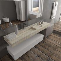 Mobile basso da bagno / da parete