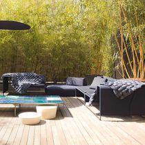 Divano modulare / moderno / da giardino / in tessuto