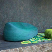 Divano moderno / da giardino / in tessuto / in corda