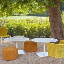 Tavolo moderno / in acciaio inossidabile / in pietra / in alluminio verniciato