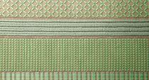 Tappeto moderno / geometrico / rettangolare / fatto a mano