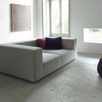 Divano modulare / moderno / in tessuto / 2 posti