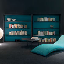 Libreria moderna / in legno laccato