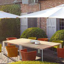 Tavolo da pranzo moderno / in legno / quadrato / rettangolare