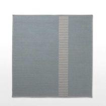 Tappeto moderno / a tinta unita / in fibre sintetiche / rettangolare