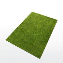 Tappeto moderno / capitonné / a tinta unita / in fibre sintetiche
