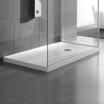 Piatto doccia rettangolare / in acrilico / ultrapiatto / rasoterra