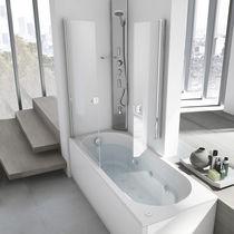 Vasca da bagno doccia da incasso / rettangolare / in acrilico