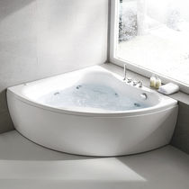 Vasca da bagno da appoggio / d'angolo / in acrilico / idromassaggio