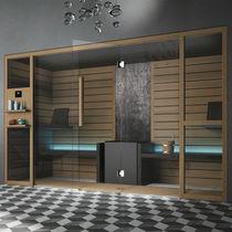 Sauna per uso residenziale / in legno