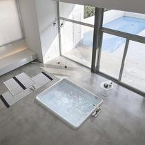 Vasca da bagno in acrilico / idromassaggio / per cromoterapia