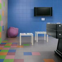 Piastrella da interno / per pavimento / in gres porcellanato / a tinta unita
