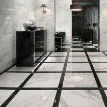 Piastrella da interno / per pavimento / in gres porcellanato / lucidata