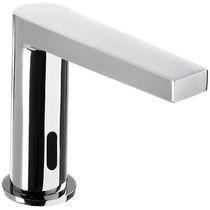 Miscelatore per lavabo / in metallo cromato / elettronico / da bagno
