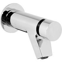 Miscelatore per lavabo / da incasso / in metallo cromato / temporizzato