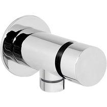 Miscelatore da incasso / in metallo cromato / da bagno / 1 foro