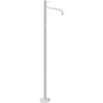 Miscelatore per lavabo / a pavimento / in metallo cromato / da bagno