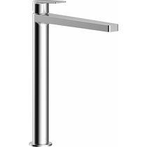 Miscelatore per lavabo / in metallo cromato / da bagno / 1 foro