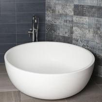 Vasca da bagno da appoggio / rotonda / in Solid Surface