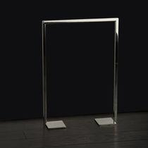 Portasalviette 1 barra / con piede / in acciaio inox