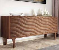 Credenza moderna / in legno laccato / bianca / grigia