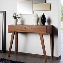 Consolle moderna / in legno / rettangolare / con cassetti