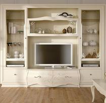 Mobile TV in stile / in legno / in legno laccato