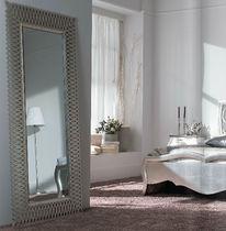 Specchio da terra / in stile / rettangolare / in metallo