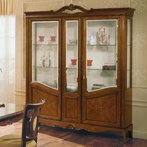 Vetrina in stile / in vetro / in legno