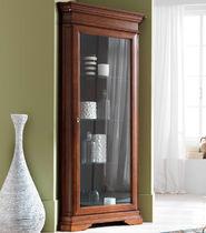 Credenza con alzata classica / in vetro / in legno