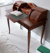 Scrittoio classico / in legno / con scaffale integrato