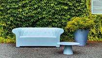Vaso da giardino in polietilene / luminoso / di Paolo Rizzatto