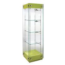 Vetrina moderna / in vetro / illuminata / professionale