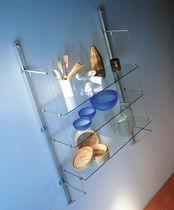 Mensola / moderno / in vetro