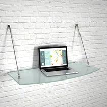 Mensola / moderno / in vetro / per negozio