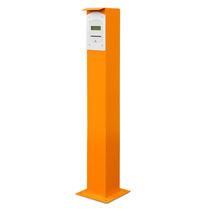 Colonna di controllo accessi / in alluminio / fissa / per parcheggio