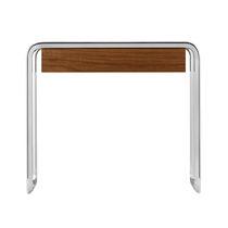 Tavolino basso moderno / in legno / in metallo / rettangolare