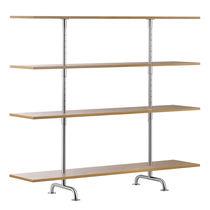 Scaffale basso / moderno / in legno laccato / in quercia