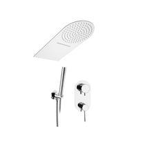 Set doccia da incasso a muro / moderno / con doccia a mano / con soffione fisso